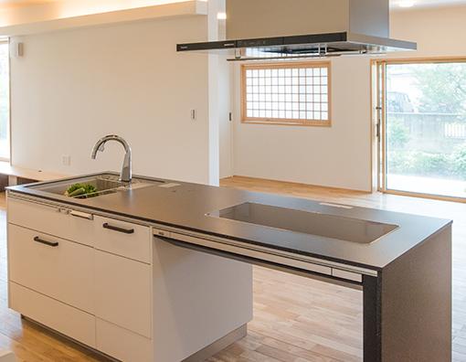 キッチン(台所)の場所を考える