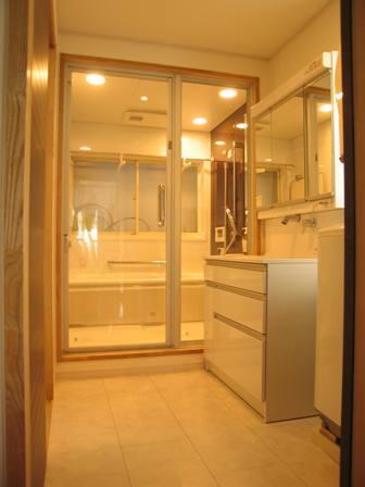 洗面浴室リフォーム