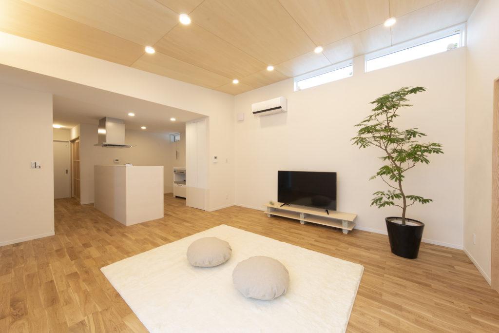 自然素材で高性能な平屋住宅