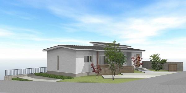 平屋の新築 2021年1月着工